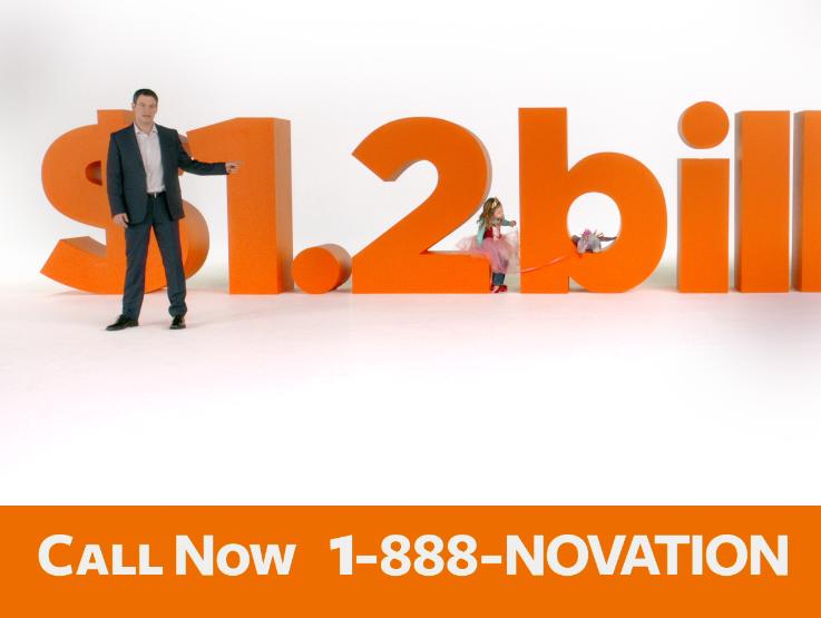 Novation Settlement Solutions TV Commercials