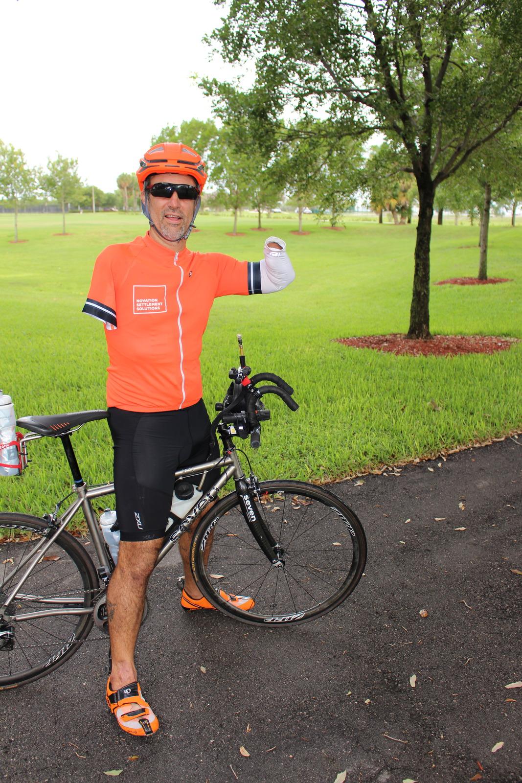 Novation Sponsors Adaptive Triathlete Hector Picard
