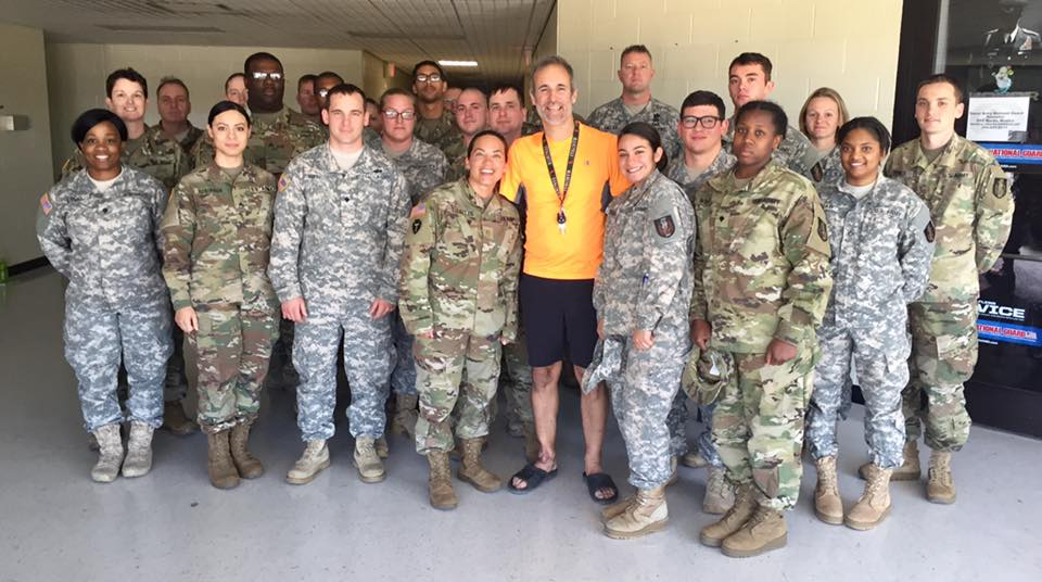 36 Sustainment Brigade in Temple, TX Hecotr Picards Tour To Inspire