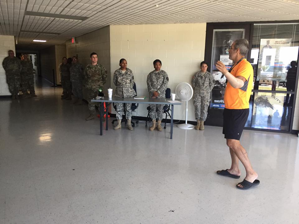 36 Sustainment Brigade in Temple, TX Hecotr Picards Tour To Inspire 2