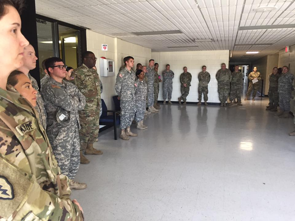 36 Sustainment Brigade in Temple, TX Hecotr Picards Tour To Inspire 3